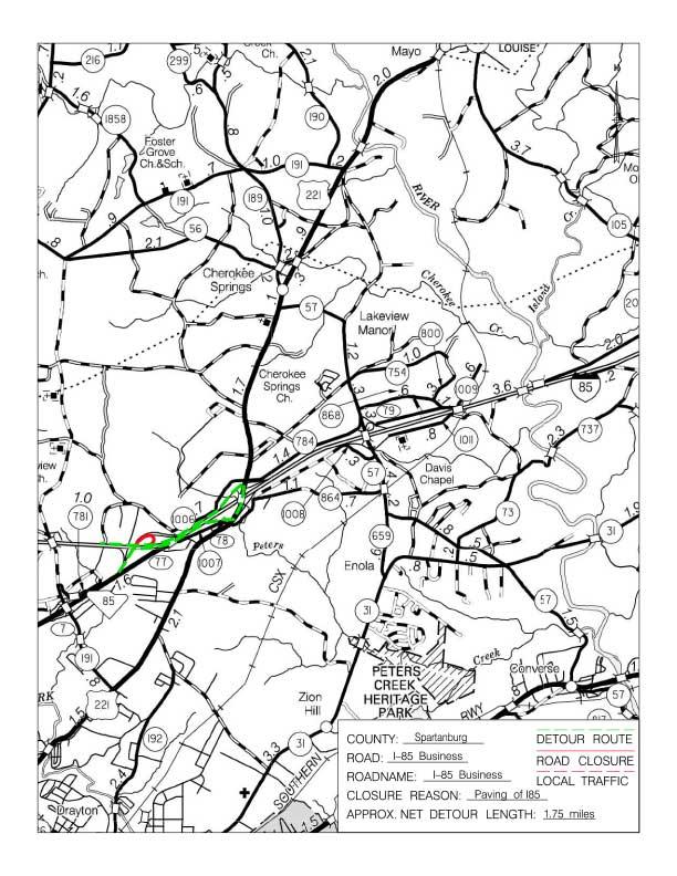 SCDOT I-85 Widening Project